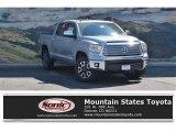 2017 Silver Sky Metallic Toyota Tundra Limited CrewMax 4x4 #122290379