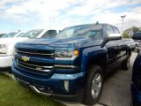 2018 Deep Ocean Blue Metallic Chevrolet Silverado 1500 LTZ Double Cab 4x4 #122290676