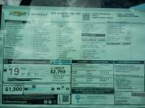 2018 Chevrolet Silverado 1500 LS Regular Cab Window Sticker