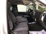 2017 Chevrolet Silverado 1500 LT Regular Cab 4x4 Dark Ash/Jet Black Interior