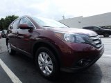 2014 Basque Red Pearl II Honda CR-V EX-L AWD #122312584