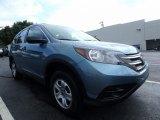 2014 Twilight Blue Metallic Honda CR-V LX AWD #122312582