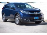 2017 Obsidian Blue Pearl Honda CR-V EX-L #122322492