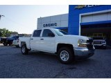 2017 Summit White Chevrolet Silverado 1500 WT Crew Cab #122330146