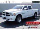 2015 Bright White Ram 1500 Express Crew Cab 4x4 #122330198
