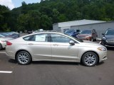 2017 White Gold Ford Fusion Hybrid SE #122330134