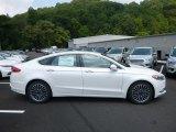 2017 White Platinum Ford Fusion SE #122330133
