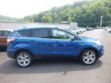2017 Lightning Blue Ford Escape Titanium 4WD #122330131