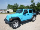 2017 Chief Blue Jeep Wrangler Unlimited Sport 4x4 #122346335