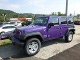 2017 Extreme Purple Jeep Wrangler Unlimited Sport 4x4 #122346334