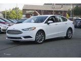 2017 Oxford White Ford Fusion SE #122346265