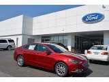 2017 Ruby Red Ford Fusion SE #122346261