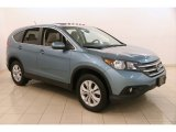 2014 Mountain Air Metallic Honda CR-V EX AWD #122346414