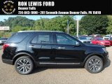 2017 Shadow Black Ford Explorer Platinum 4WD #122346193