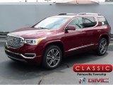 2018 Crimson Red Tintcoat GMC Acadia Denali AWD #122346402