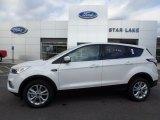 2017 White Platinum Ford Escape SE 4WD #122369741