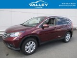 2014 Basque Red Pearl II Honda CR-V EX-L AWD #122369431