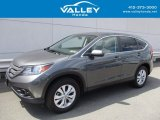 2014 Polished Metal Metallic Honda CR-V EX AWD #122369430