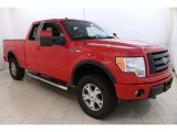 2010 Vermillion Red Ford F150 FX4 SuperCab 4x4 #122369724