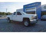 2017 Summit White Chevrolet Silverado 2500HD Work Truck Double Cab #122369616