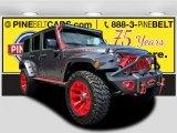 2016 Billet Silver Metallic Jeep Wrangler Unlimited Rubicon 4x4 #122390611