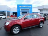 2010 Cardinal Red Metallic Chevrolet Equinox LS AWD #122390898