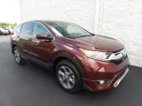 2017 Basque Red Pearl II Honda CR-V EX-L AWD #122390795