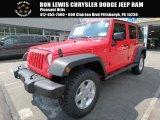 2017 Firecracker Red Jeep Wrangler Unlimited Sport 4x4 #122390981