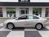 2015 Creme Brulee Mica Toyota Camry LE #122390978