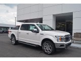 2018 White Platinum Ford F150 Lariat SuperCrew 4x4 #122390844