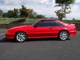 1993 Ford Mustang Bright Red