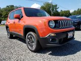 2017 Omaha Orange Jeep Renegade Latitude 4x4 #122390627