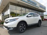 2017 White Diamond Pearl Honda CR-V Touring AWD #122390913