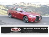 2015 Ruby Flare Pearl Toyota Camry XSE #122426257