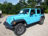 2017 Chief Blue Jeep Wrangler Unlimited Rubicon 4x4 #122426444