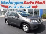 2014 Polished Metal Metallic Honda CR-V LX AWD #122426363
