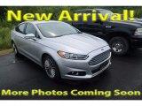 2013 Ingot Silver Metallic Ford Fusion Titanium AWD #122467532