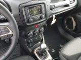 2017 Jeep Renegade Latitude 4x4 6 Speed Manual Transmission