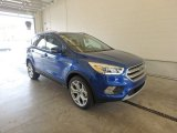 2017 Lightning Blue Ford Escape Titanium 4WD #122467468