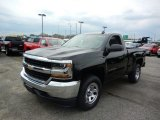 2018 Black Chevrolet Silverado 1500 LS Regular Cab #122467576