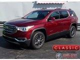 2018 Crimson Red Tintcoat GMC Acadia SLT AWD #122467546