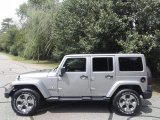 2017 Billet Silver Metallic Jeep Wrangler Unlimited Sahara 4x4 #122467402