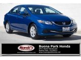 2015 Dyno Blue Pearl Honda Civic LX Sedan #122479931