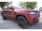 2018 Jeep Grand Cherokee Velvet Red Pearl