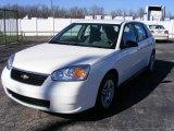 2007 White Chevrolet Malibu Maxx LS Wagon #12238414