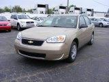 2007 Sandstone Metallic Chevrolet Malibu LS Sedan #12238415