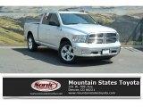 2014 Bright Silver Metallic Ram 1500 Big Horn Quad Cab 4x4 #122498755