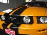 2007 Grabber Orange Ford Mustang GT Premium Coupe #12244532
