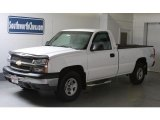 2003 Summit White Chevrolet Silverado 1500 LS Regular Cab 4x4 #12244571