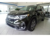 2017 Dark Olive Metallic Honda CR-V EX AWD #122499006